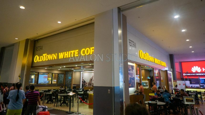 KLIA2 にある OLDTOWN WHITE COFFEE