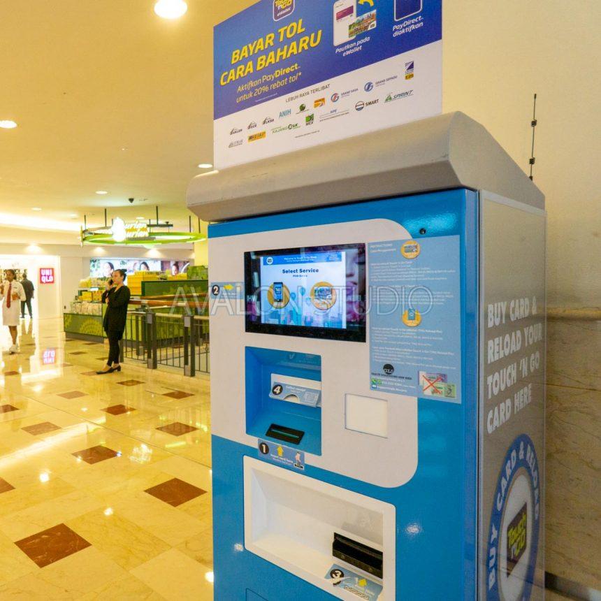 Suria KLCC の Touch'n Go 券売機