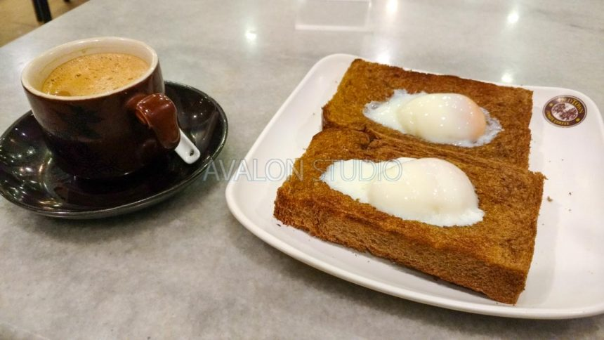 OLDTOWN WHITE COFFEE BB12 Soft Boiled Omega Eggs on Toast